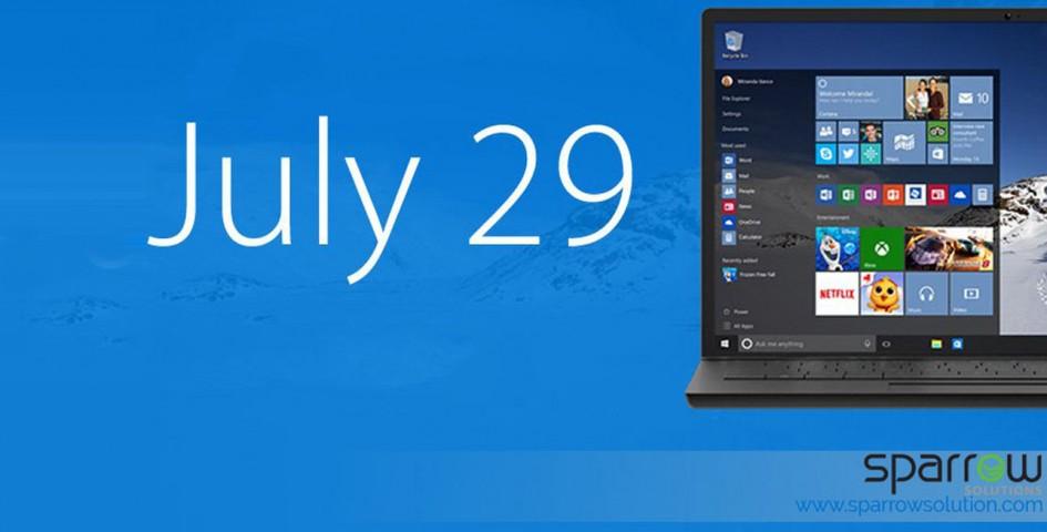 Windows 10 release on