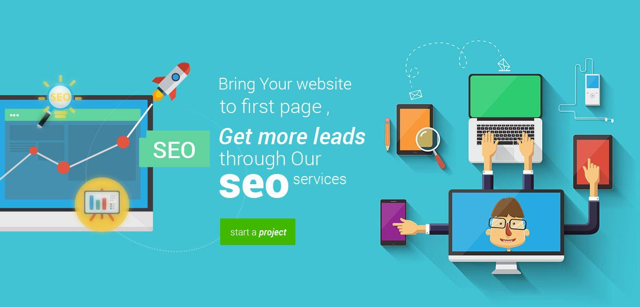 develop your wbsite with power of SEO Maximize your business